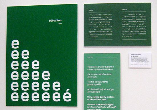 Typeface designed by Jason Aitcheson