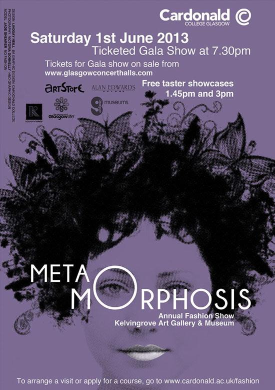 Metamorphosis poster by Lindsay Neill