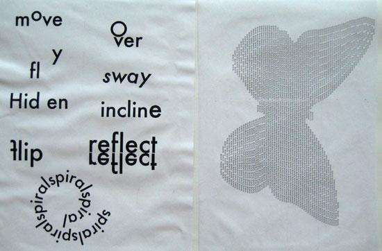 Typographic exercises by Kieran McMaster