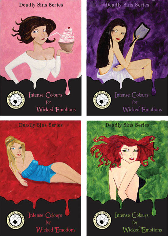 Black Sheep's Deadly Sins series by Sara Tellez