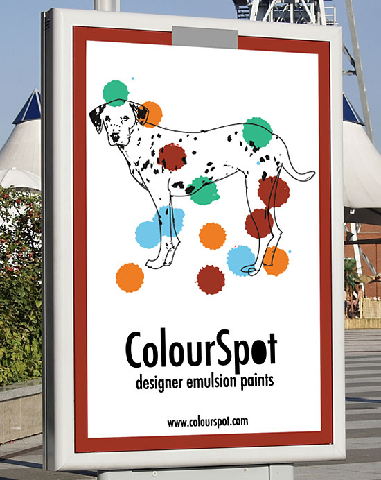 ColourSpot paints by Ashley Donelli