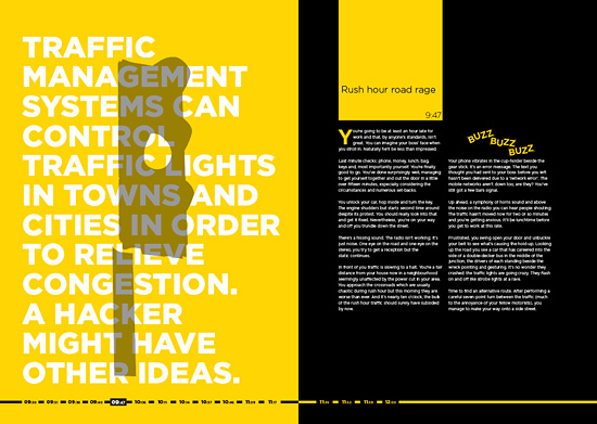 Editorial design by Christopher Fisher