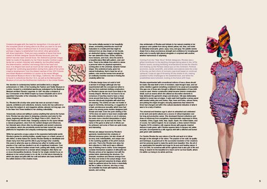 Double page spread designed by Rebecca Prasher