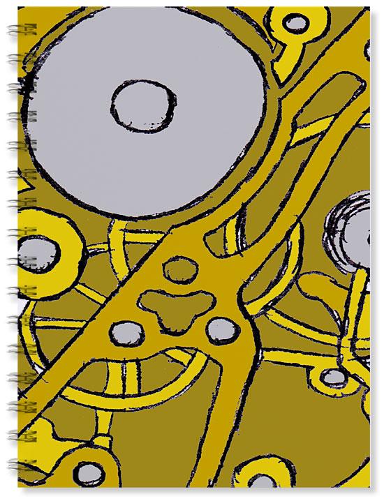 Design for a notebook by Iain Denham