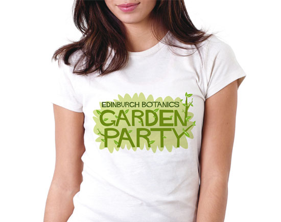 Garden Party t shirt by Stuart Chalmers