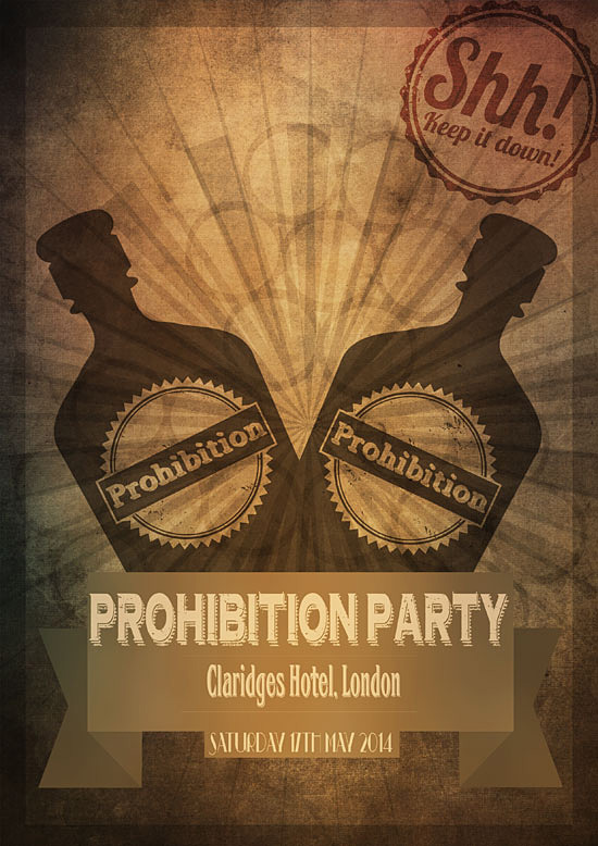 Prohibition Party theme by Amy Collier