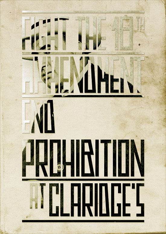 Prohibition Party poster by George Galbraith