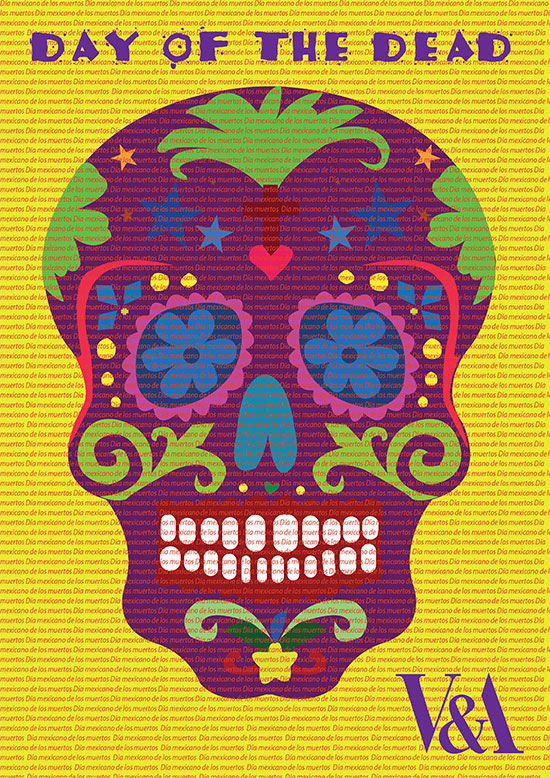 Day of the Dead poster by Chris Jamieson