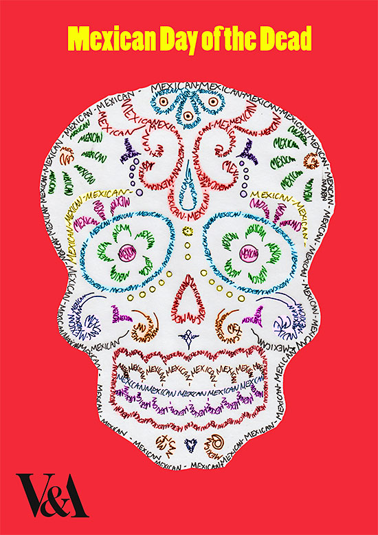 Day of the Dead poster by Lawrence Ma