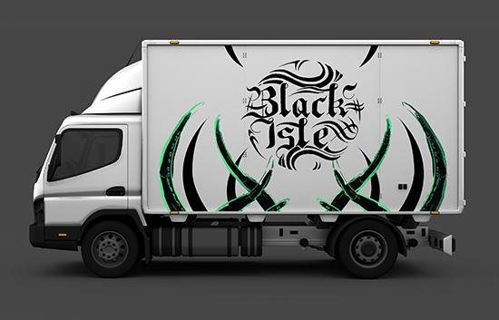Black Isle design by George Galbraith