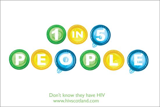 HIV awareness campaign by Karen Donald