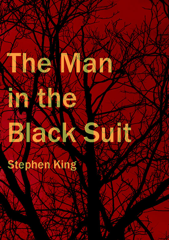 The Man in the Black Suit by Richard McGowan