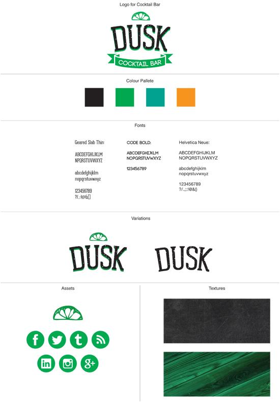 Brand board by George Galbraith