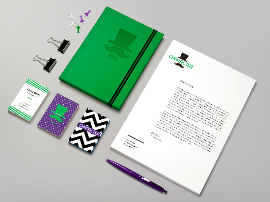 Stationery Mock-up by Laura Reilly