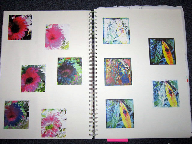 Sketchbook work by Cara Scott