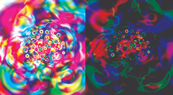 Gradient blends in Photoshop by Patrycja Meller