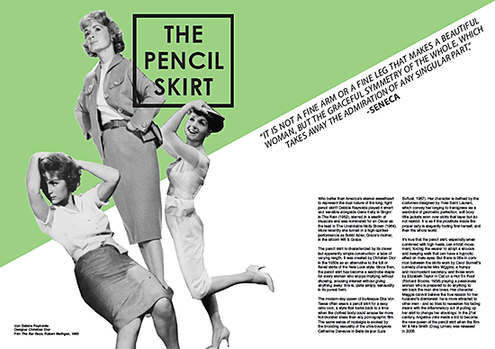Editorial design by Kirsty Clark