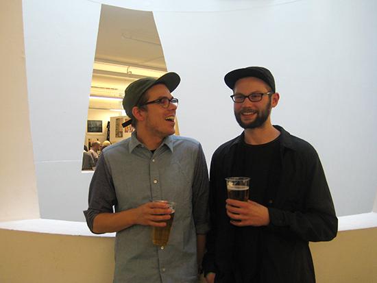 Steven Swinney and Gareth Lindsay