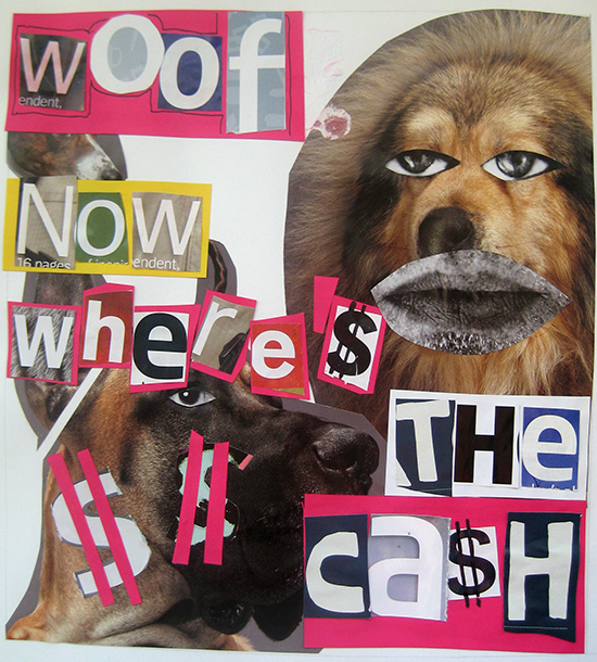 Ransom note by Darren McKenna