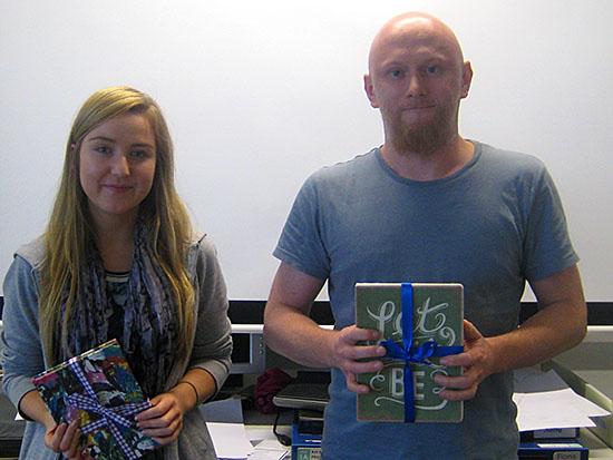 Cara Scott and Marcin Olszanecki