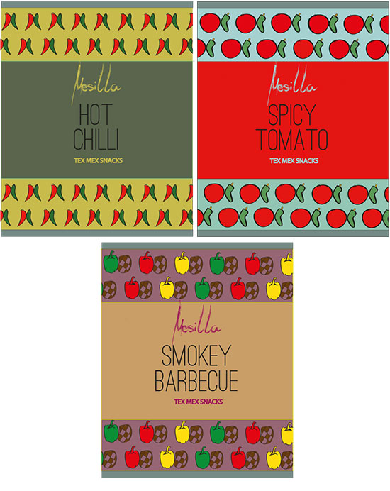 Designs for snacks by Neelish Noor