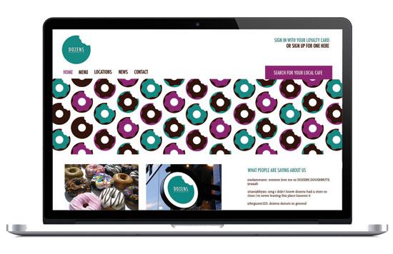 Identity for a doughnut company by Cara Scott