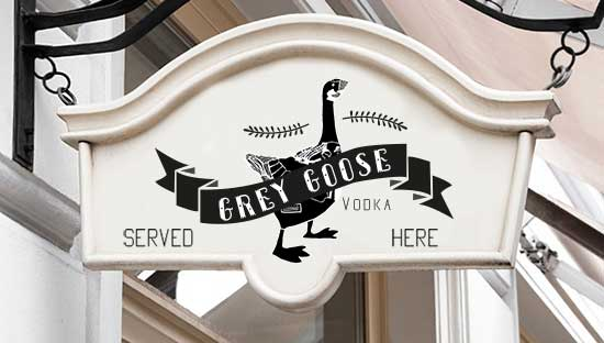 Redesign for Grey Goose vodka by Hannah Cairns