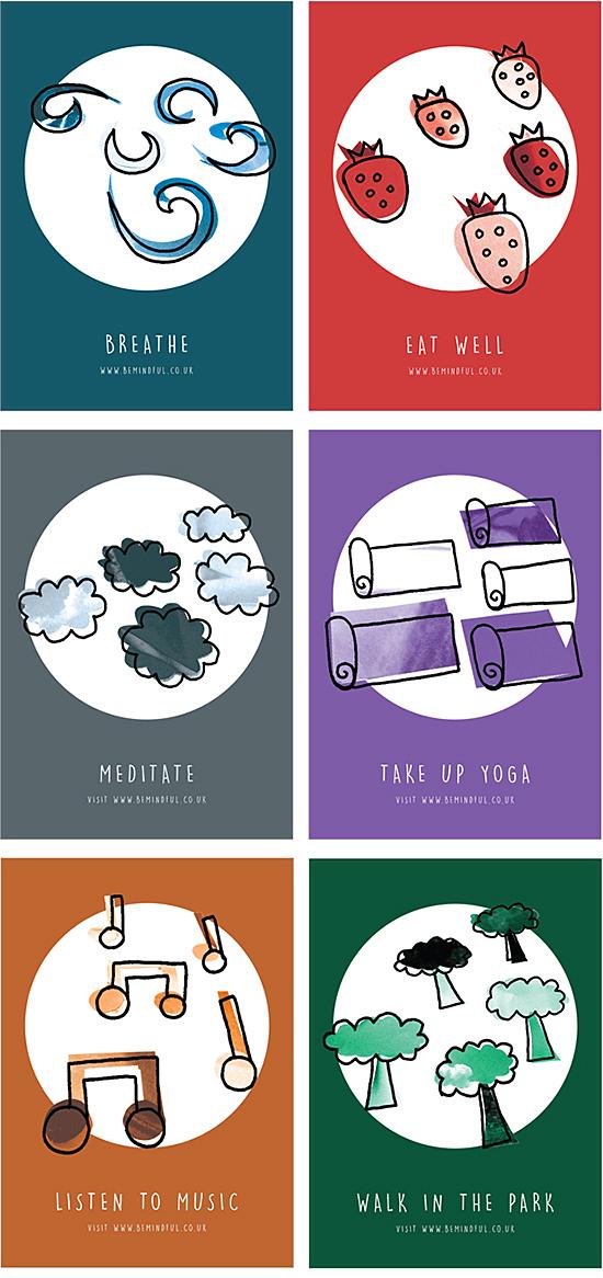 Mindfulness campaign by Emma Hope