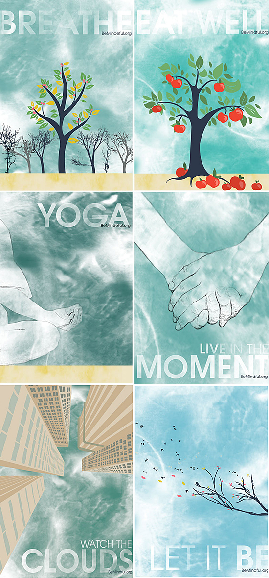 Mindfulness campaign by Eilidh Jamieson