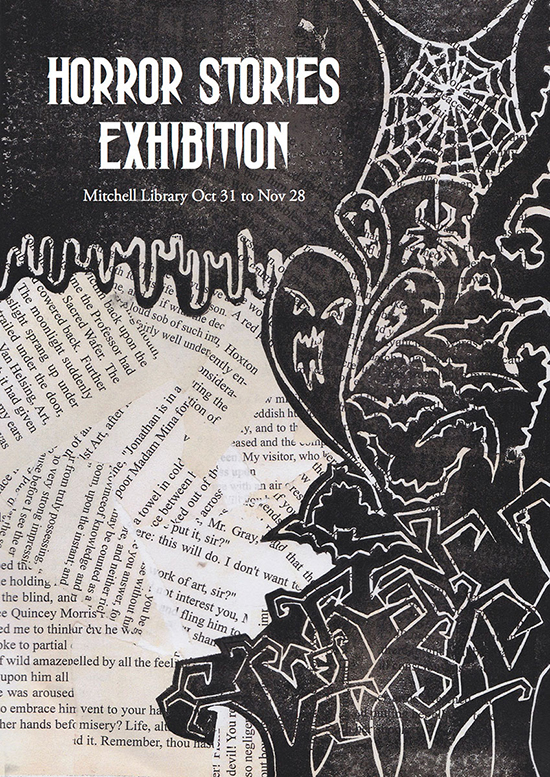 Poster for a Horror Exhibition by Holly Neilson