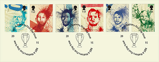 Postage stamps designed by John Paul Lawler