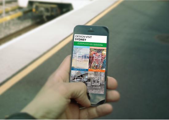 Promotional app by Jamie Stein