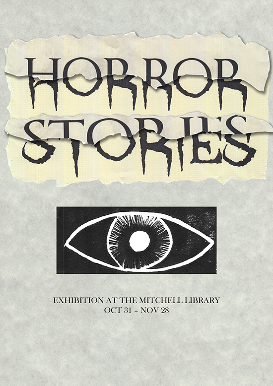 Poster for a Horror  Exhibition by Shannon Brady