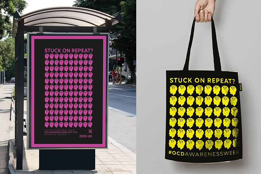 OCD Campaign by Jamie Stein
