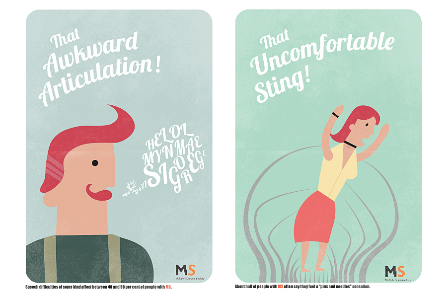 MS Awareness Campaign by Bryce Miller