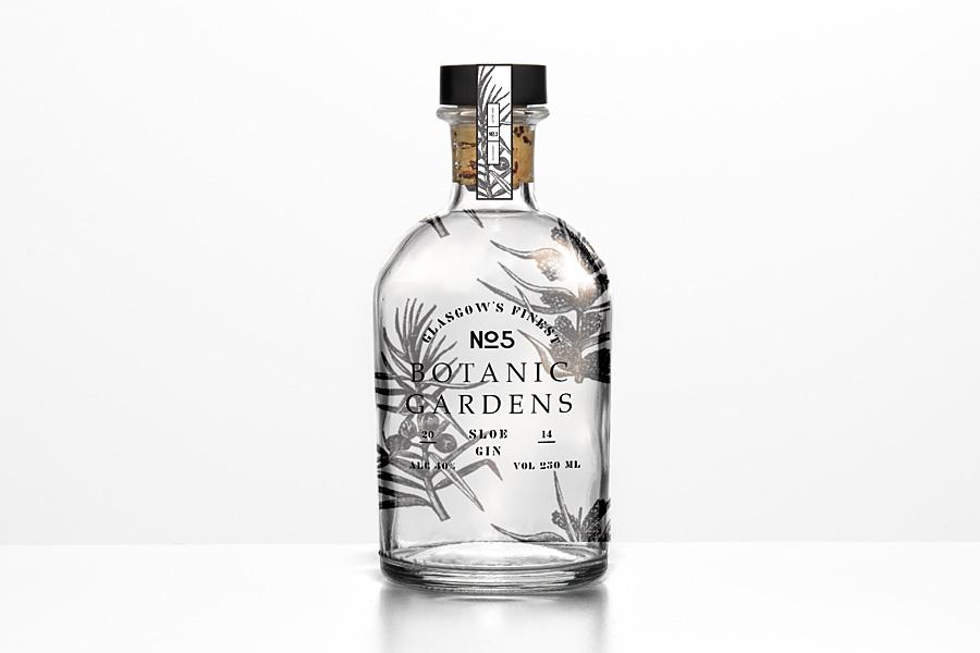 Gin Branding by Kirsty Nolan