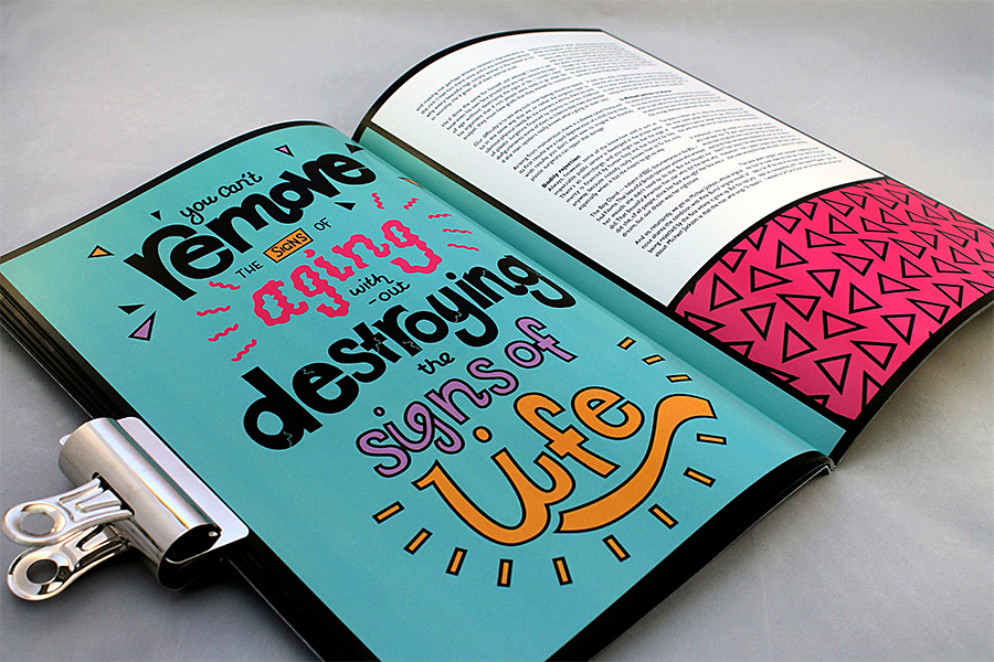 Glasgow Clyde College BA Graphic Design Editorial