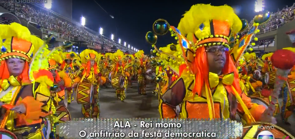 """Carnival is a """"democratic party"""" in which all kinds of people participate."""