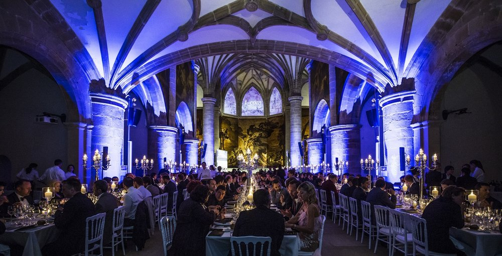 I-COM Gala Awards Dinner 2015, San Sebastian