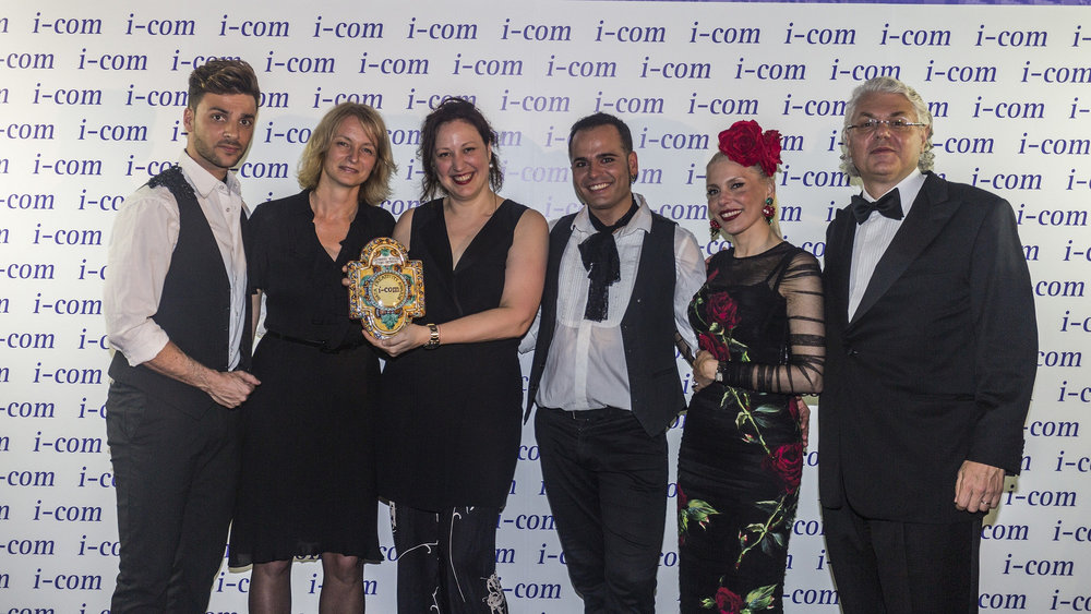 I-COM 2016 Gala Awards Dinner    I-COM Data Creativity Awards // Video Category Winner: SKO and Kantar Media, The Netherlands