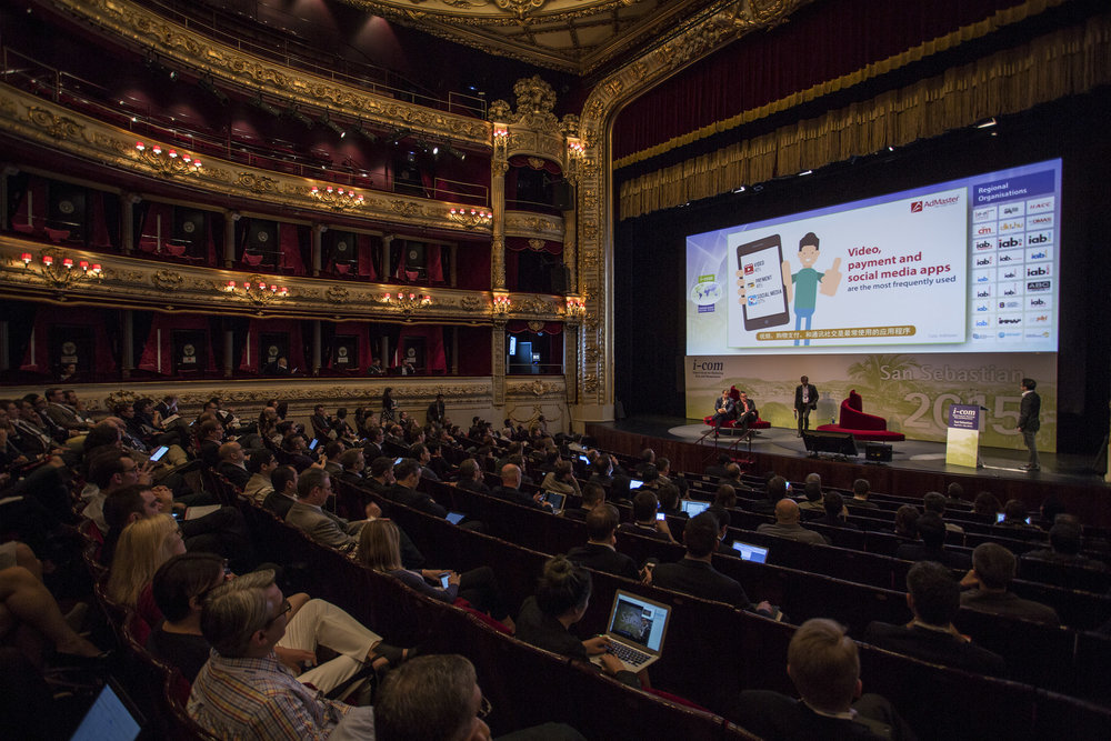 I-COM Global Summit 2015, San Sebastian