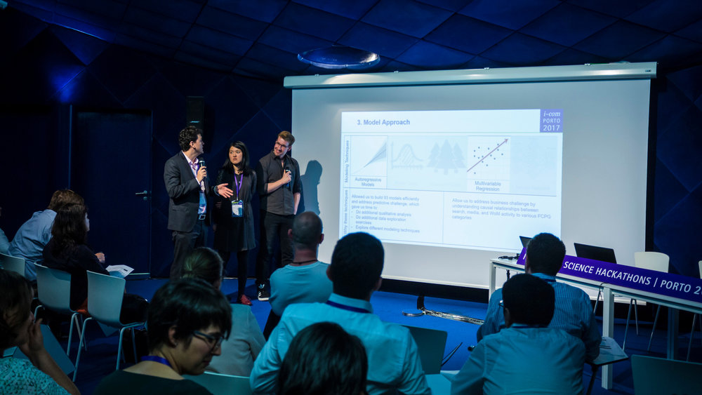 Presentation of results (Porto, 2017)