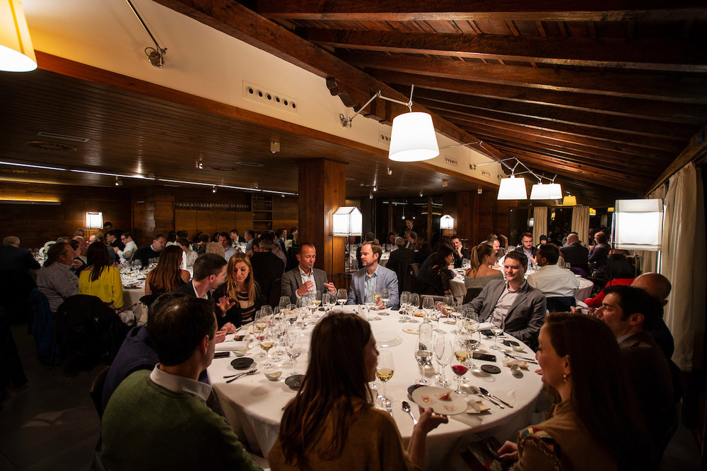 Summit Closing Dinner at Mugaritz, 2018