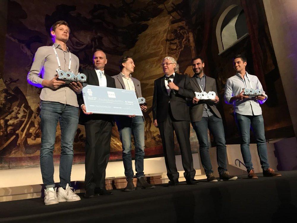 Domo Award winners (San Sebastian, 2018)