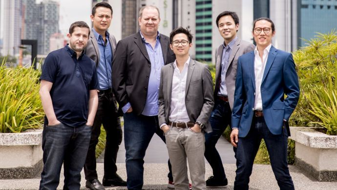 Jirnexu Founders -(L)C. Vivier, J. Wong, J. Barnes, L. Ooi, H. Liew, YT Siew