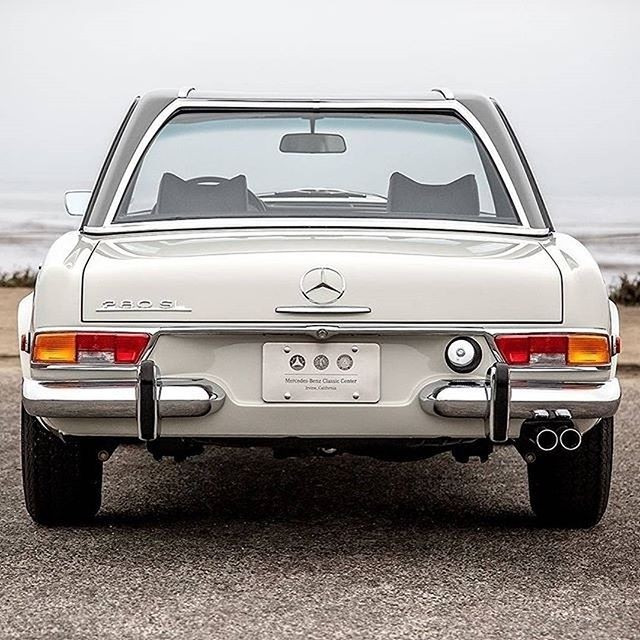 REGRAM CoolBrand @mercedesbenz: 1971 Mercedes-Benz 280 SL restored at the Mercedes-Benz Classic Center in Irvine, CA. ( Photo by @mbclassiccenter ) #mbclassic #restoration #beauty #pagoda #280sl #quality #cartastic #classic #instacar #timeless #lifestyle #luxury #mercedes #mercedesbenz #dreamcar - For more classic cars please follow also @mercedesbenzmuseum . . . . #thatsdarling #thehappynow #pursuepretty #makeyousmilestyle #flashesofdelight #petitejoys #livethelittlethings #nothingisordinary #finditliveit #thegoodlife #makeithappen