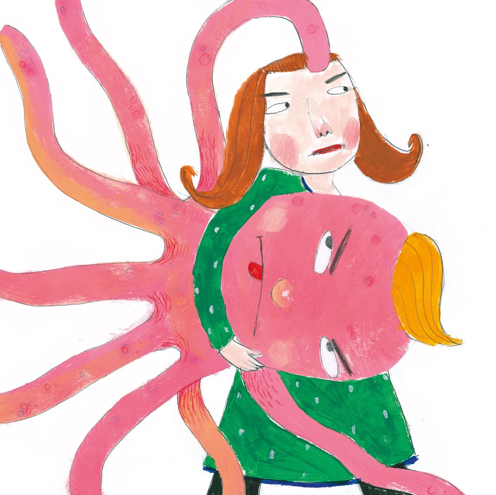 Mons Marius er ei løve/Bildebok omslag, design og illustrasjon.    Mangschou 2010 Forf. Bente Bratlund