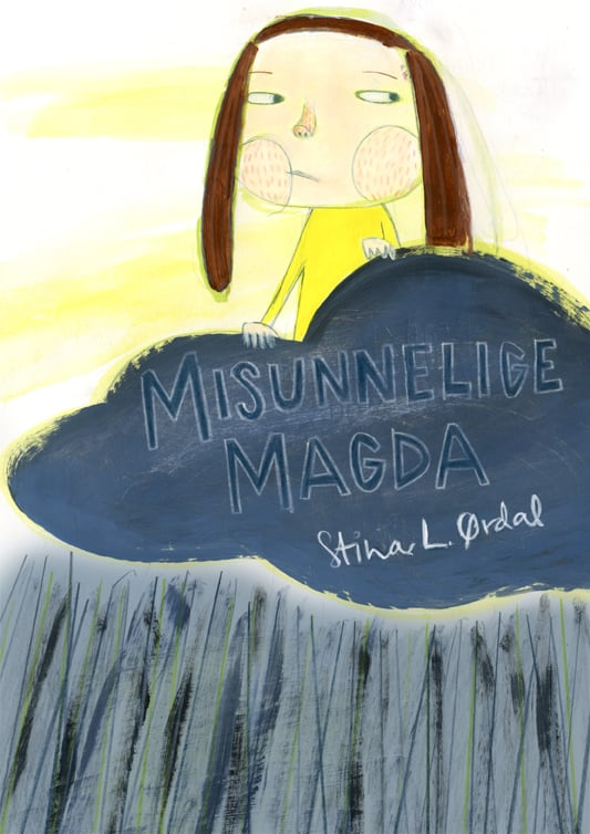Misunnelige Magda /Bildebok Gyldendal 2011    (Forf + ill Stina Langlo Ørdal)