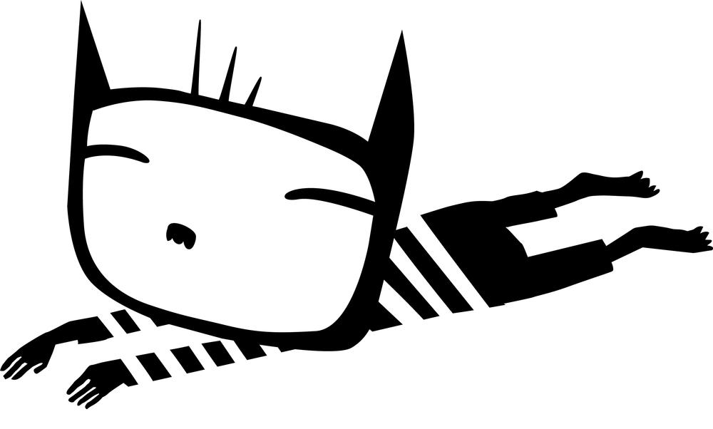 Katta /Ung Husflid 2015  Abstrahering og forenkling av karakter til trykkblokker som skal brukes av Ung Husflids medlemmer.
