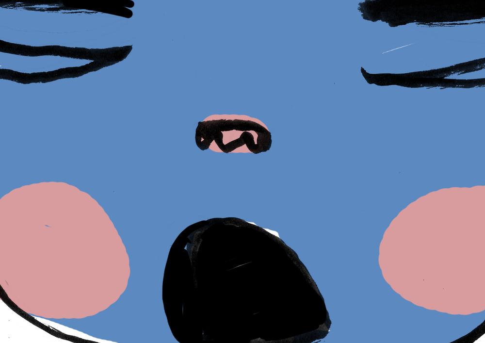 Gimber&Katta /Ung Husflid 2015  Still fra animasjon om toving